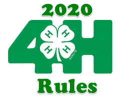 2020 4H Rules