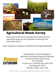 Scott County Agricultural Needs Survey