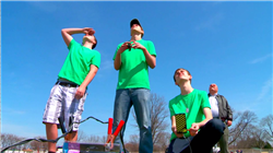 St. Joseph Rocketry Club members