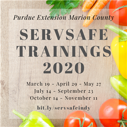 ServSafe Trainings 2020