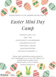 Easter Day Camp
