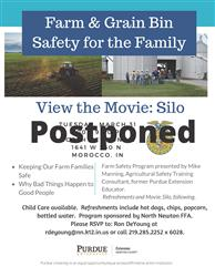 Postponed Farm Safety