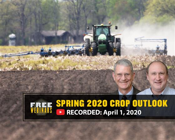 Purdue Spring 2020 Crop Outlook Webinar Recording Available