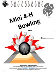 Mini 4-H Bowling