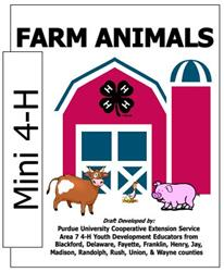 Mini 4-H Farm Animals