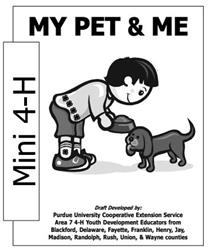 Mini 4-H My Pet & Me