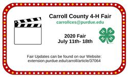 Carroll Co 4-H Fair