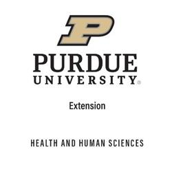 Purdue HHS Extension Logo
