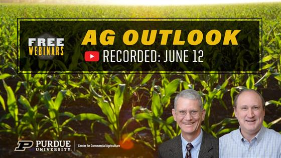 Purdue June 12th Ag Outlook