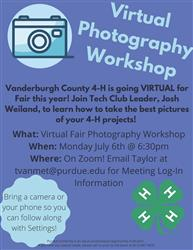 Virtual Photography Workshop