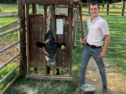 Liam Gogel and his 4-H Beef Project