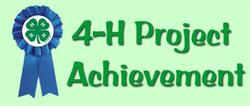 Get recognized your 4-H achievements!