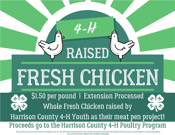 4-H Fresh Chicken