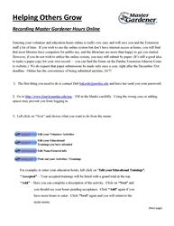 page 1 instructions