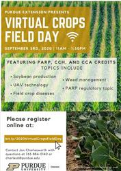 Virtual Crops field Day