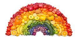 An array of colors for your plate