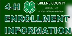 Greene County Enroll Now