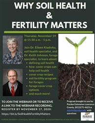 soil health and fertility