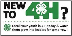New to 4-H?