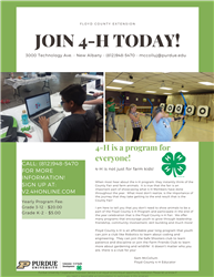 Join 4-H today!