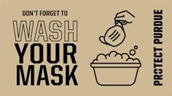 How to store and wash masks