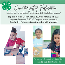 Give the Gift of 4-H