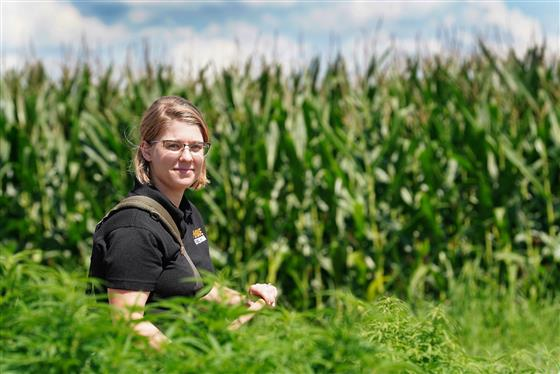Marguerite Bolt is Purdue Extension's first hemp production specialist.