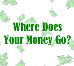 Where does your money go logo