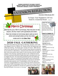 Extension Reflection front page