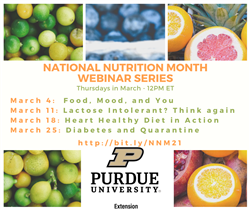National Nutrition Month flyer