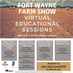 Fort Wayne Farm Show virtual programs