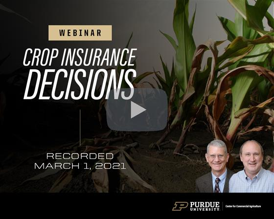 2021 Crop Insurance Decisions
