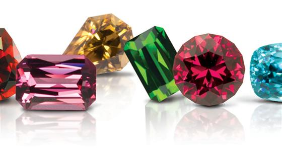Row of Gems