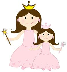 Queen and Princess