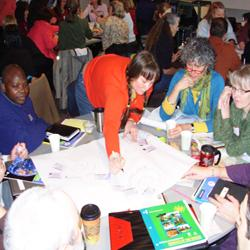 Teachers at Indiana Natural Resources Teacher Institute