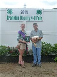 4-H poultry at 2014 Fair