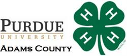 Purdue Extension and 4-H Logo