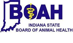 Indiana Board of Animal Health Logo