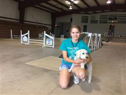 Indiana 4-H Dog Agility Champions Sami Scigouski & Kipper Welcome Families to LaGrange County 4-H