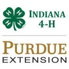 Indiana 4-H Purdue Extension logo