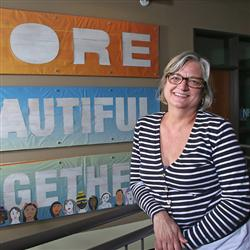 Teri Morris-Downs is executive director of the Immigrant Welcome Center in Indianapolis.