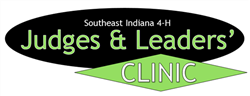 Southeast Indiana 4-H Judges & Leaders' Clinic