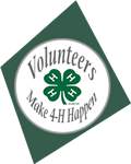 4-H Volunteers Make It Happen icon