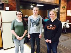 Huntington County Jr Leaders serving others