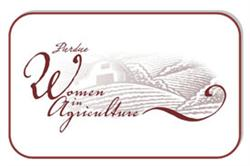 logo for Purdue Women in Agriculture