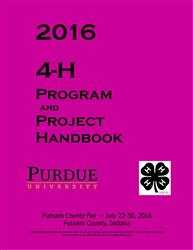 2016 4-H Program and Project Handbook (Green Book)