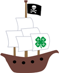 Clover Pirate Ship