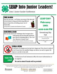 Area 1 Junior Leader Conference