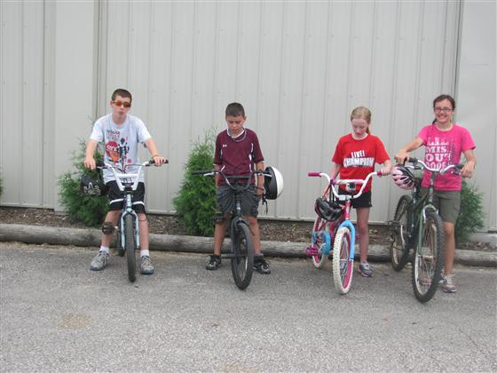 2013 Bicycle Rodeo Participants