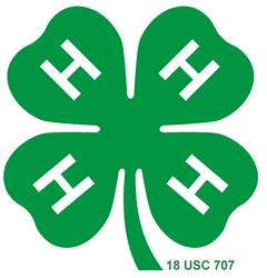 Official 4-H Clover